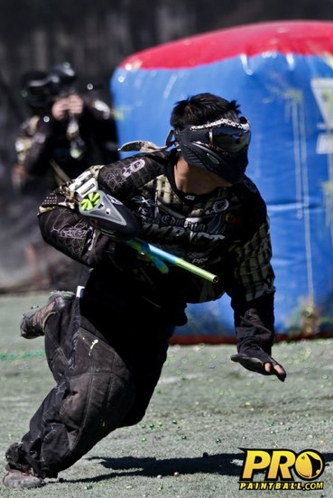 Pro Paintball Player Tim Montressor