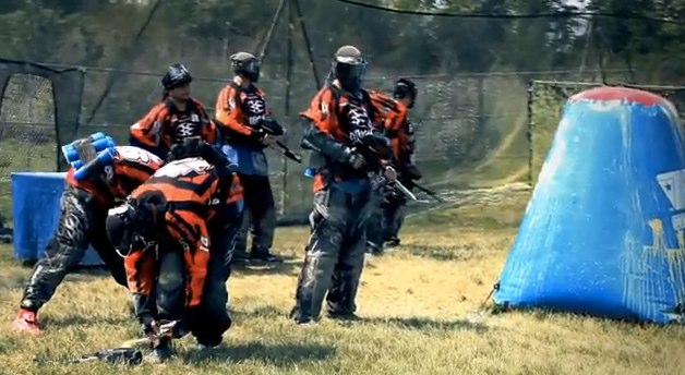 NPPL Paintball Video from Chicago Open