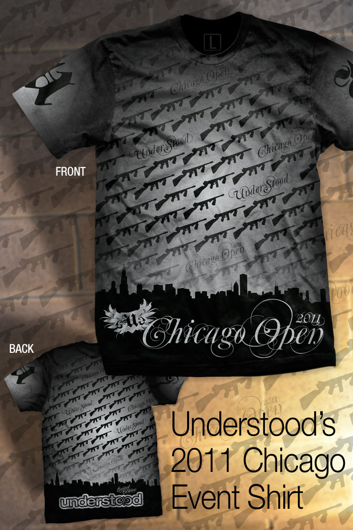 Understood Paintball Chicago Event Shirt