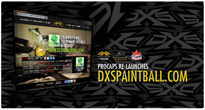 Draxxus New Paintball website