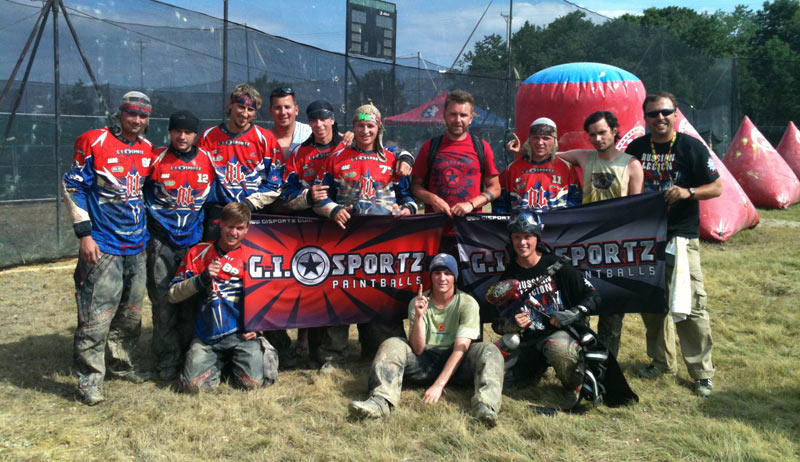 Russian Legion Paintball team