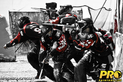 Pro paintball team infamous