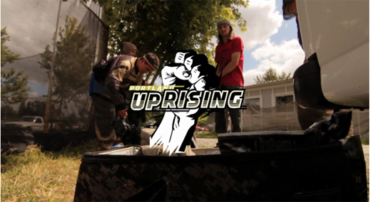 Pro Paintball with Portland Uprising