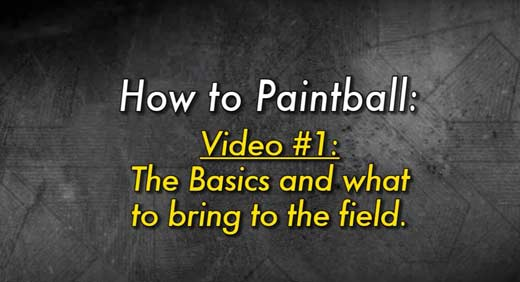 How to Paintball video guide series