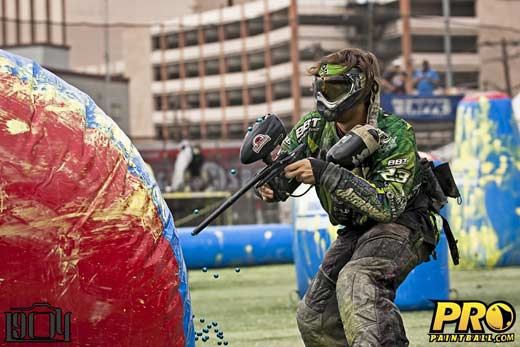 Pro Paintball team Chicago Aftershock