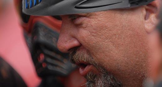 Pro Paintball coach Paul Richards
