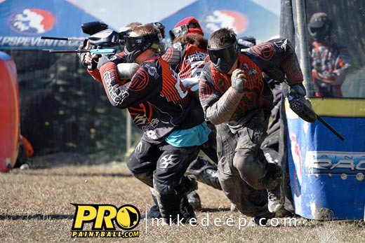 Top Gun Paintball team breaks out at PSP World Cup 2011