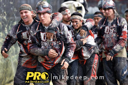Distortion Paintball team