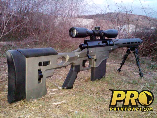 New Paintball Gun: SAR12 Sniper