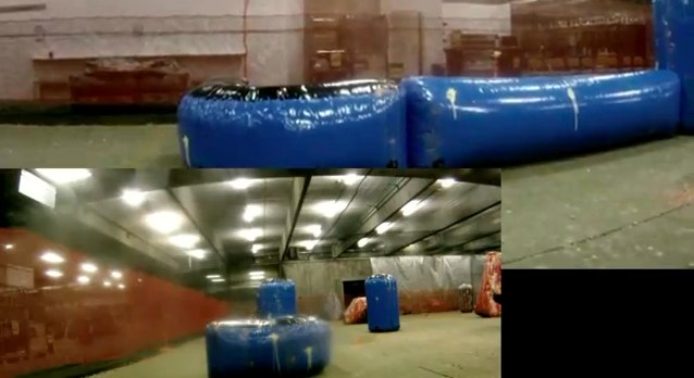 New paintball bunkers from Sup'Air