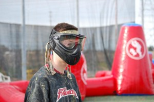 Nico Perry of Pro paintball team Seattle Thunder