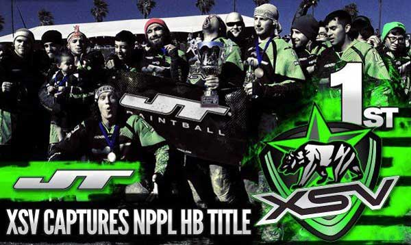 XSV Paintball win NPPL HB 2012