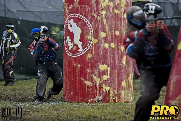 Pro paintball team Russian Legion