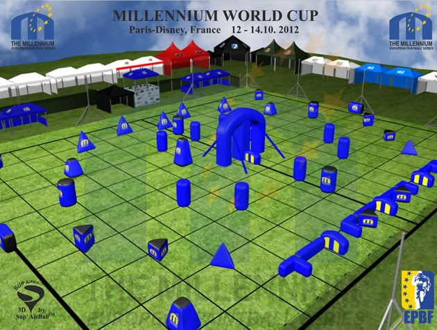 Millennium Paintball World Cup – 2012 Layout Unveiled