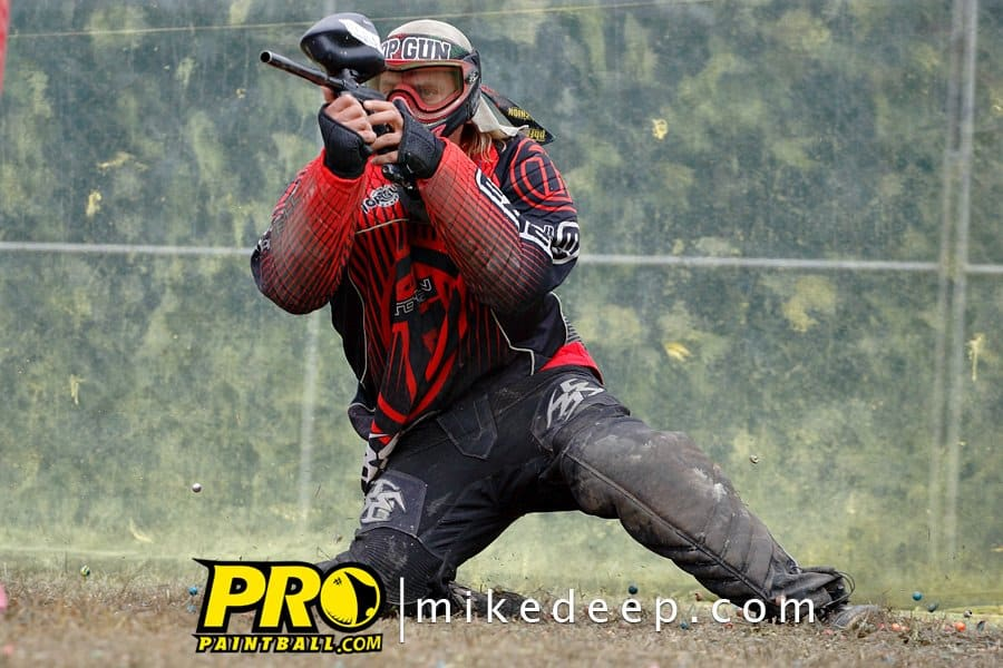 Top Gun Paintball team