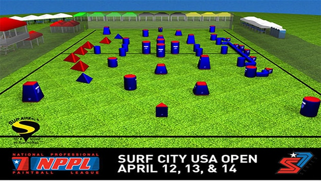 NPPL 2013 Surf City Open Field Layout Released