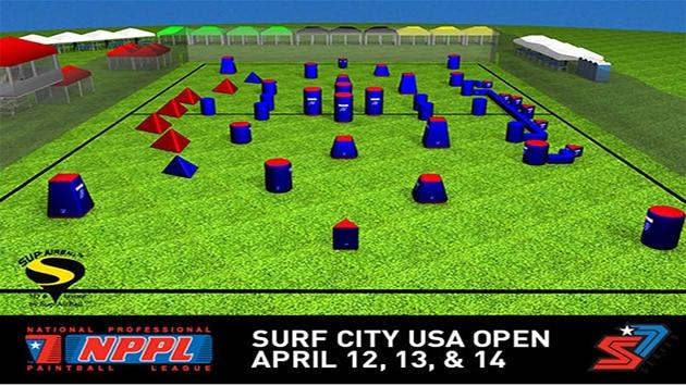 NPPL 2013 Surf City Open Field Layout Released