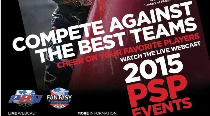 PSP Paintball 2015 Schedule