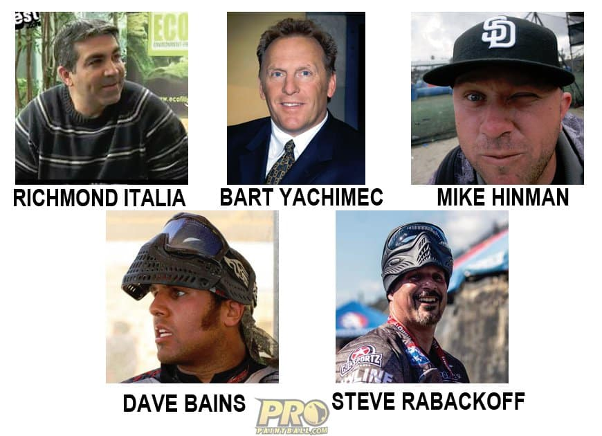 Rumored owners of the new NXL paintball league.