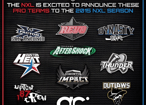NXL Pro Paintball Team List released